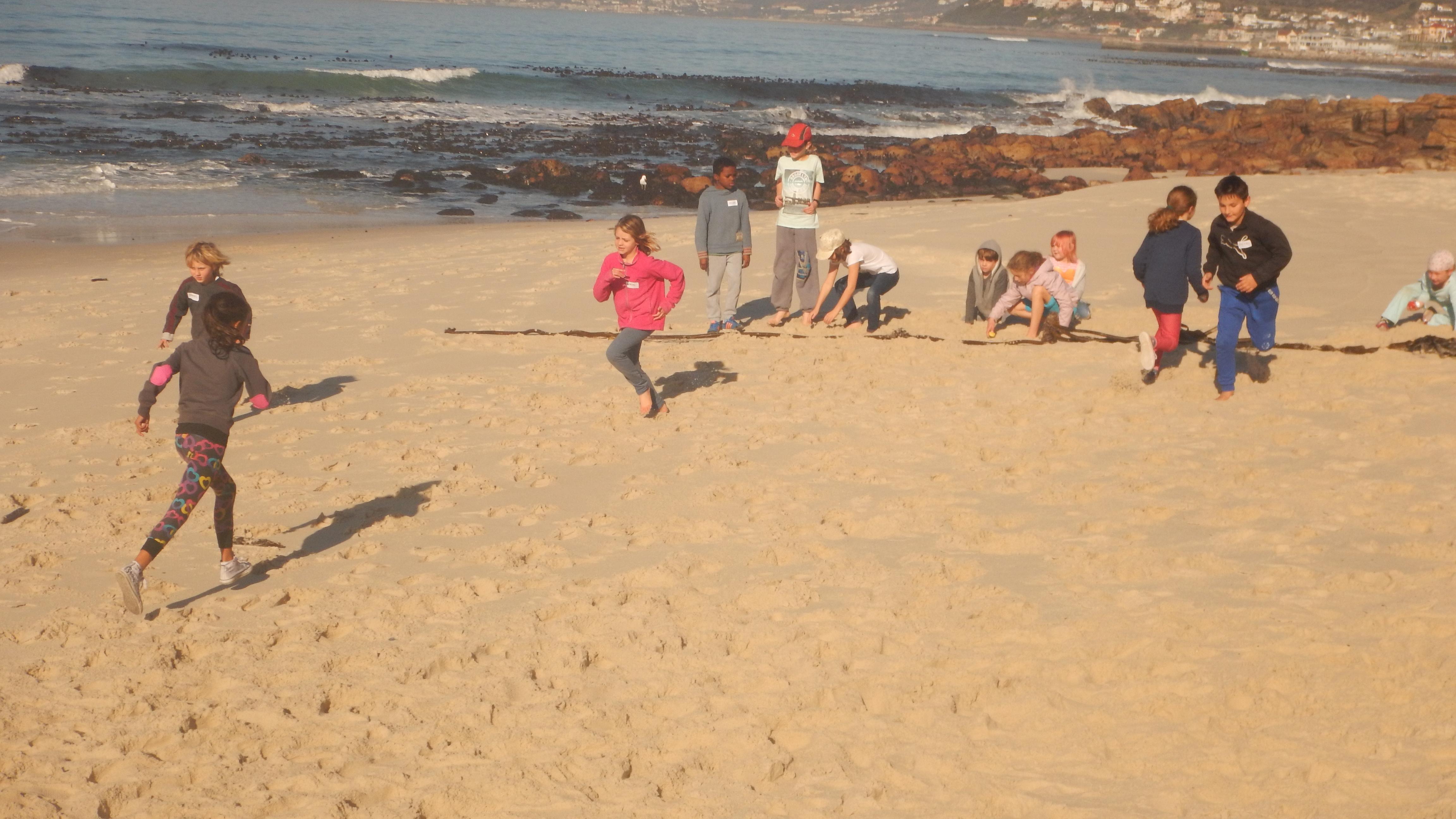 Beach games!