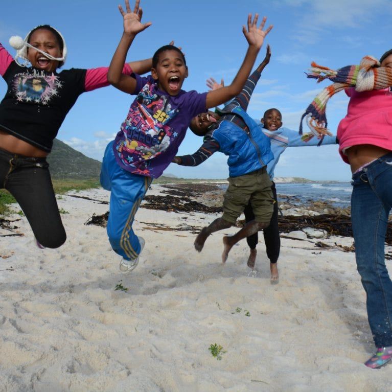 The SOSF Shark Education Centre runs Marine Awareness Camps twice a year. The camps, held at Soetwater Resort in Kommetjie, introduce Grade 5 schoolchildren from local disadvantaged schools to the complexities of the marine environment on their doorstep. The children participate in numerous activities that enable them to better understand the marine realm and encourage team building and personal growth. Photo by Philippa Ehrlich | © Save Our Seas Foundation