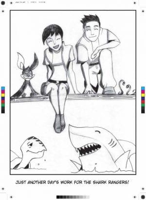 Tova Bornovski - Shark Week Palau children activities