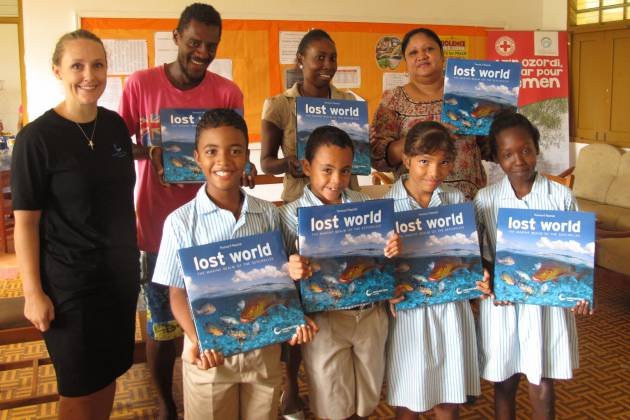 MARCH abi - Lost World books in schools