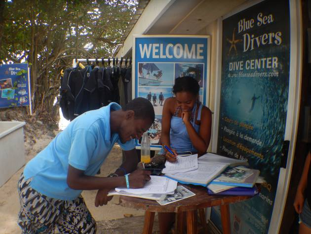 MARCH abi - my openwater diving experience