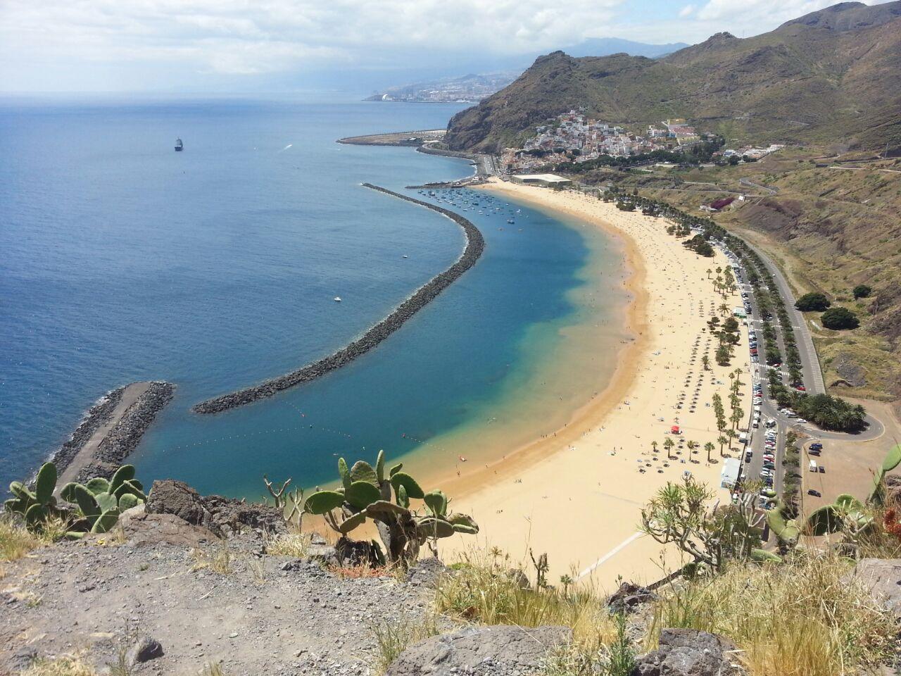 Las Teresitas, Tenerife.
