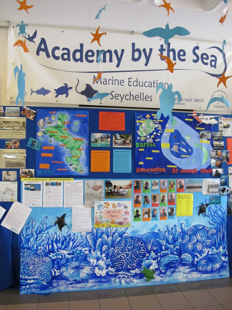 The Academy by the Sea exhibition