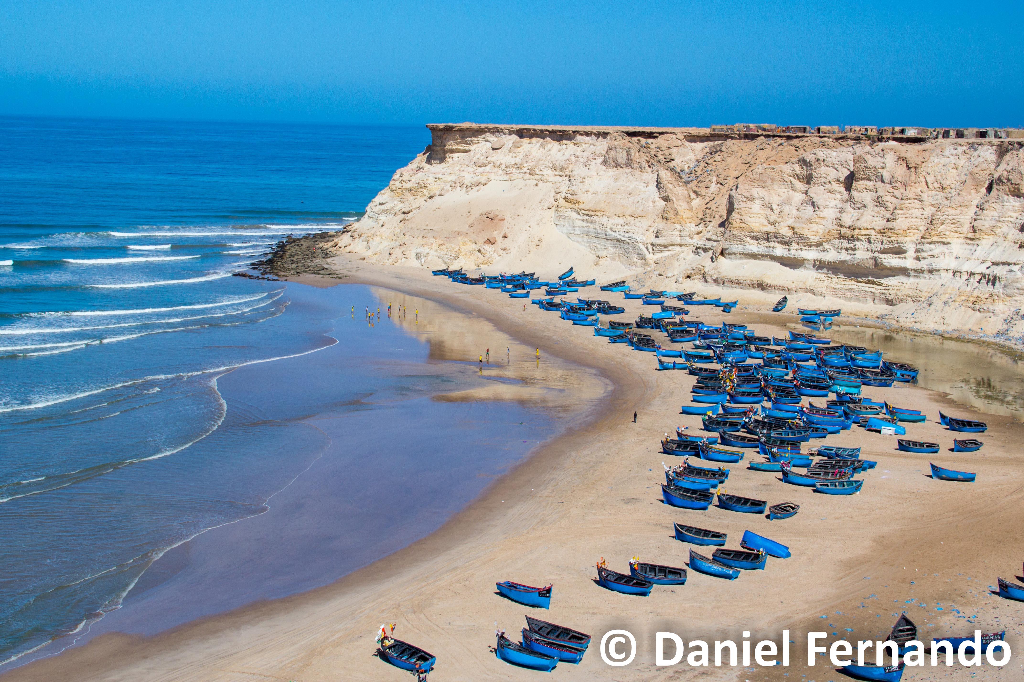 © Daniel Fernando - a fishing village in Dakhla, Western Sahara