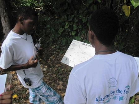 Oneal and Randy at Banyan Tree wetlands