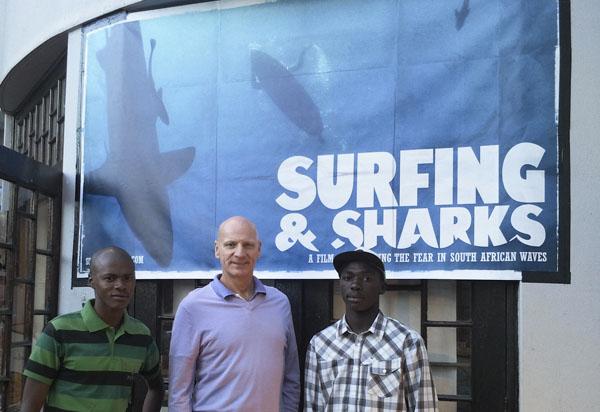 SOSF CEO Peter Verhoog, Lungani Memani, Avuyile Ndamase